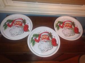 Santa trays
